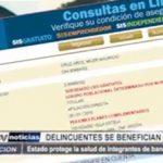 Trujillo: Prontuariados delincuentes se benefician con el SIS