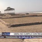 Huanchaco: Construcción del malecón en Huanchaquito se retrasa por incumplimiento de requisitos