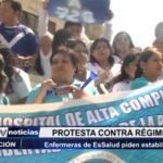 Trujillo: Enfermeras de EsSalud piden estabilidad laboral
