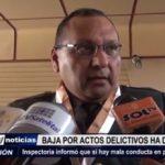 Trujillo: La inspectoría de la PNP informa que las bajas por actos delictivos ha disminuido