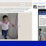 Spam: Fotografía de niño robado es falsa