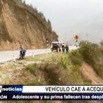 La Libertad: Adolescente y su prima fallecieron tras despiste de automóvil en que viajaban