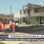 Alto Trujillo: Municipio no rinde cuenta de gastos en El Porvenir