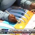 Trujillo: 380 escolares participan en Concurso Regional de Dibujo y Pintura