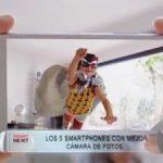 Te presentamos los 5 smartphones con mejor cámara
