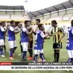 Chavelines: Se despedirá con la frente en alto de la Etapa Nacional de Copa Perú