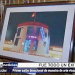 Trujillo: Clausura de primer Salón Binacional de muestra de arte visual