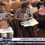 Trujillo: Organizan por primera vez el Día de la Persona con Discapacidad