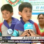 SUNASS: Realiza feria sobre cuidado del agua y premiará a ganadores de concurso escolar