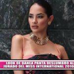 Look de Danea Panta deslumbró al jurado del Miss International 2016