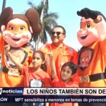 Trujillo: MPT sensibiliza a niños en temas de prevención en casos de sismo y tsunami