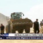 El Porvenir: Desalojan a 100 familias de terreno para megaproyecto de Chavimochic
