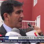 Trujillo: ONAGI oficializó designación y representantes asumen funciones