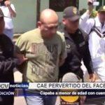 Chimbote: Pervertido captaba a adolescente a través del Facebook