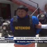 """Chimbote: Un muerto y dos heridos en fiesta """"chancalatas"""""""
