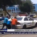 Trujillo: Inspectoría investiga a policías que pidieron a detenidos empujen patrullero