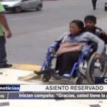 Chiclayo: Inician campaña para favorecer a personas con discapacidad