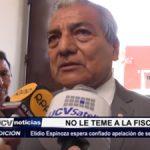 Trujillo: Elidio Espinoza espera confiado apelación de sentencia absolutoria