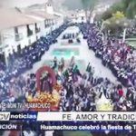 Huamachuco: Fe, amor y tradición por fiesta de Tayta Pancho
