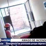 Trujillo: Serenos y Bomberos controlan amago de incendio en Aranjuez