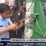 MPT: Gerencia de Defensa Civil indica que se promueve la informalidad en Avenida Eguren