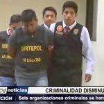 Trujillo: Criminalidad disminuyó 44% tras desarticulación de bandas delictivas