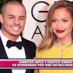 Jennifer López y Casper Smart se separaron por una infidelidad