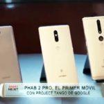 Phab 2 Pro, el primer móvil con Project Tango de Google