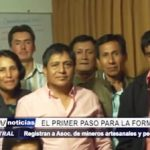 La Libertad: Inscriben a Asociación de Mineros Artesanales en Registros Públicos