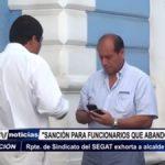 MPT: Piden sanción para funcionarios que abandonan labores