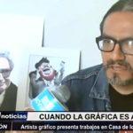 Trujillo: Artista Álvaro Portales presenta trabajos en Casa de la Identidad Regional