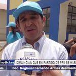 Trujillo: Prefecto desmiente acusación sobre presuntos pagos en partido de PPK