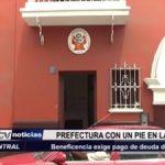 Trujillo: Prefectura con un pie en la calle a causa de deuda por alquiler de casona