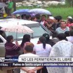 Iquitos: Padres de familia exigen a autoridades inicio de trabajos en colegio