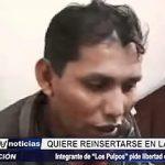 """Trujillo: Integrante de """"Los pulpos"""" quiere reinsertarse a la sociedad"""