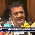 Trujillo: Gerente de Educación habla sobre peleas de escolares en las calles