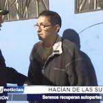 Trujillo: Serenazgo recupera autopartes robadas tras capturar a presuntos ladrones