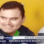 Chiclayo: Sujeto ebrio atacó a policía tras ser denunciado por violencia familiar
