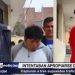 La Esperanza: Capturan a  3 supuestos traficantes que intentaban apropiarse de vivienda