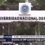 Piura: Docentes de la Universidad Nacional de Piura acatarán huelga por homologación