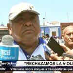 Trujillo: Orlando Villanueva sobre violencia en paro de transporte