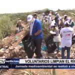 Trujillo: Voluntarios limpian el río Moche