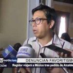 Trujillo: Regidor Víctor Valderrama viajará a México tras pedido de Alcalde