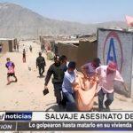 Alto Trujillo: Salvaje asesinato de albañil en su vivienda