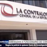 Trujillo: Funcionario de Contraloría de la República es amenazado de muerte