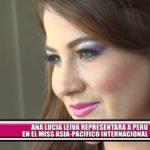 Ana Lucía Leiva representará a Perú en el Miss Asia-Pacífico Internacional