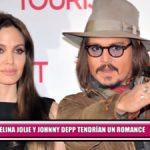 Angelina Jolie y Johnny Depp tendrían un romance