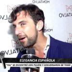 Elegancia española con Antonio Pavón