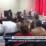 La Libertad: Destituyen a 53 jueces en el 2016