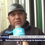 Florencia de Mora: Vecinos protestan por acumulación de basura